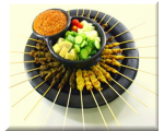 Satay 50 Sticks - Set B (Chicken+Mutton)